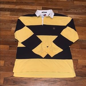 Tommy Hilfiger Shirts - Vintage Tommy Hilfiger polo rugby shirt